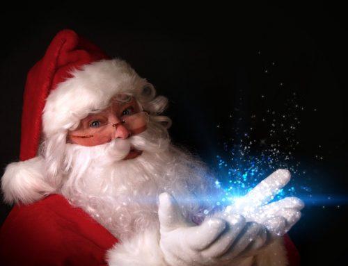 Santa Is A Super Hero