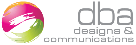 dba designs & communications Mobile Retina Logo